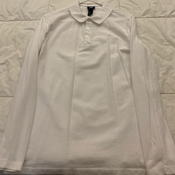 468fb882b H&M Shirts | Brand New Never Worn Hm Long Sleeve Polo Shirt | Poshmark
